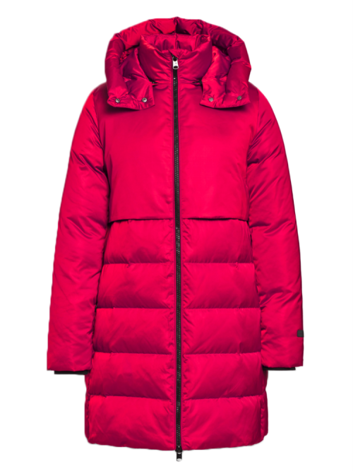 Beaumont padded coat with hood