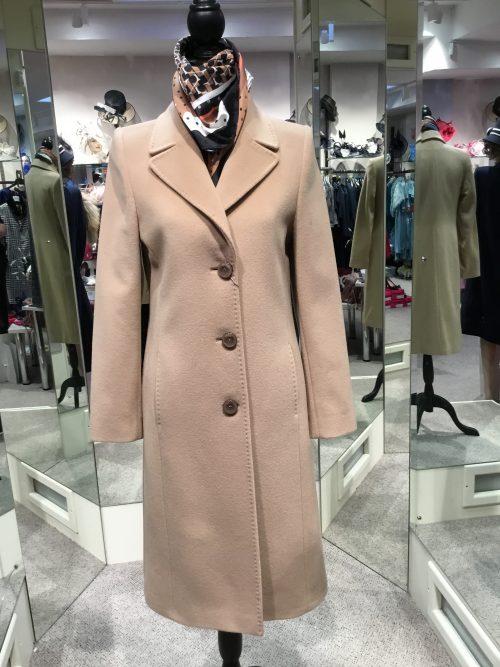 Christina Felix classic camel coat