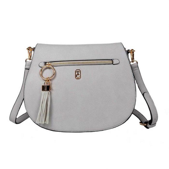 Savoy grey satchel