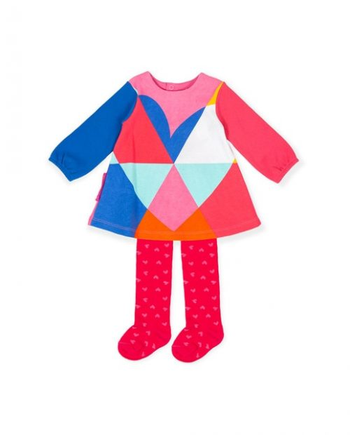 Agatha Ruiz de las Prada coloured dress