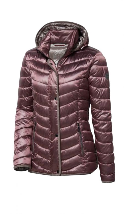 Wega downfree rose jacket with hood