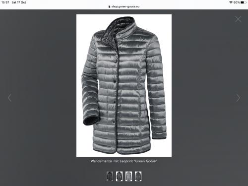 Wega reversible jacket downfree