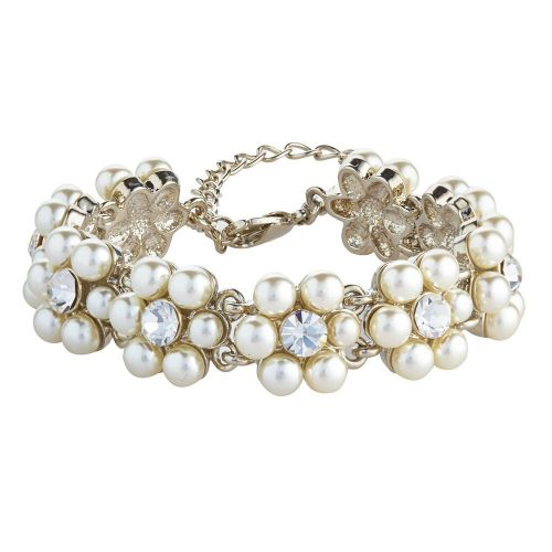 K&D 255 pearl and diamanté bracelet