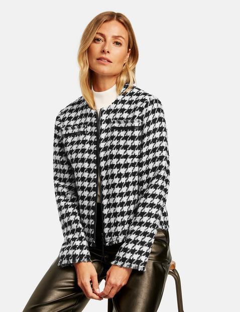Gerry Weber houndstooth jacket