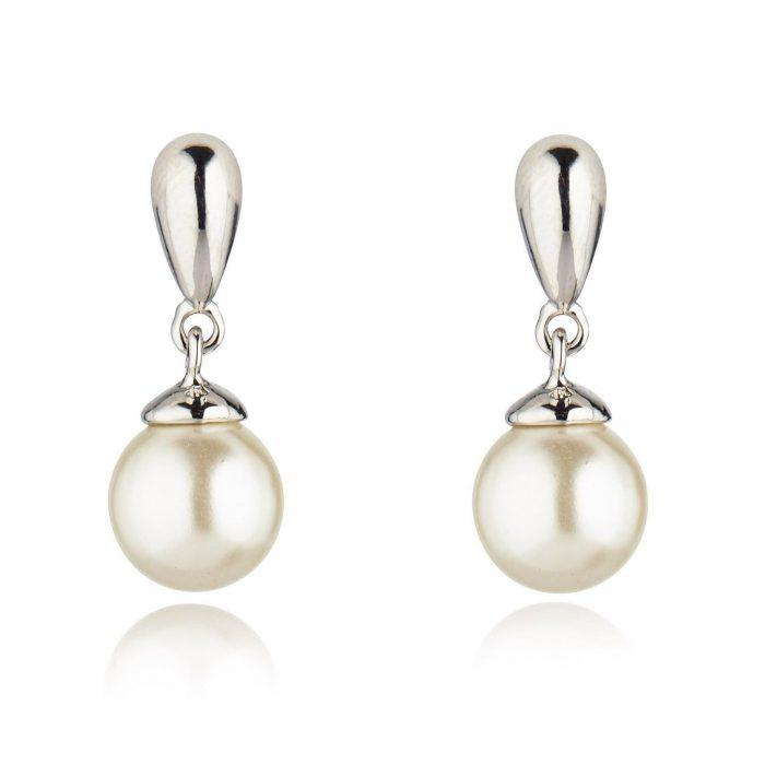K&D 320 pearl drop earring