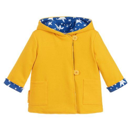 Agatha Ruiz coat jacket saffron