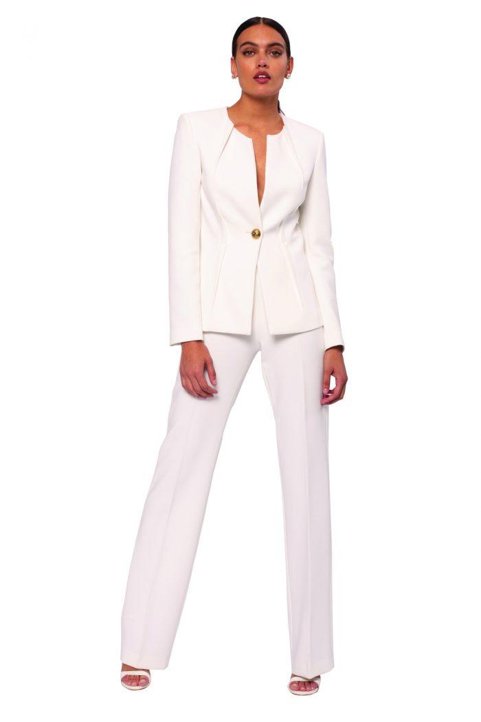 Nissa white trousers