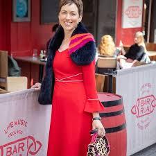 Heidi Higgins Red Freya dress