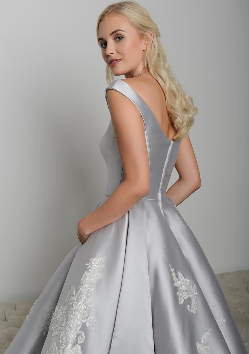 Tea Length Wedding Gown Dixie 3