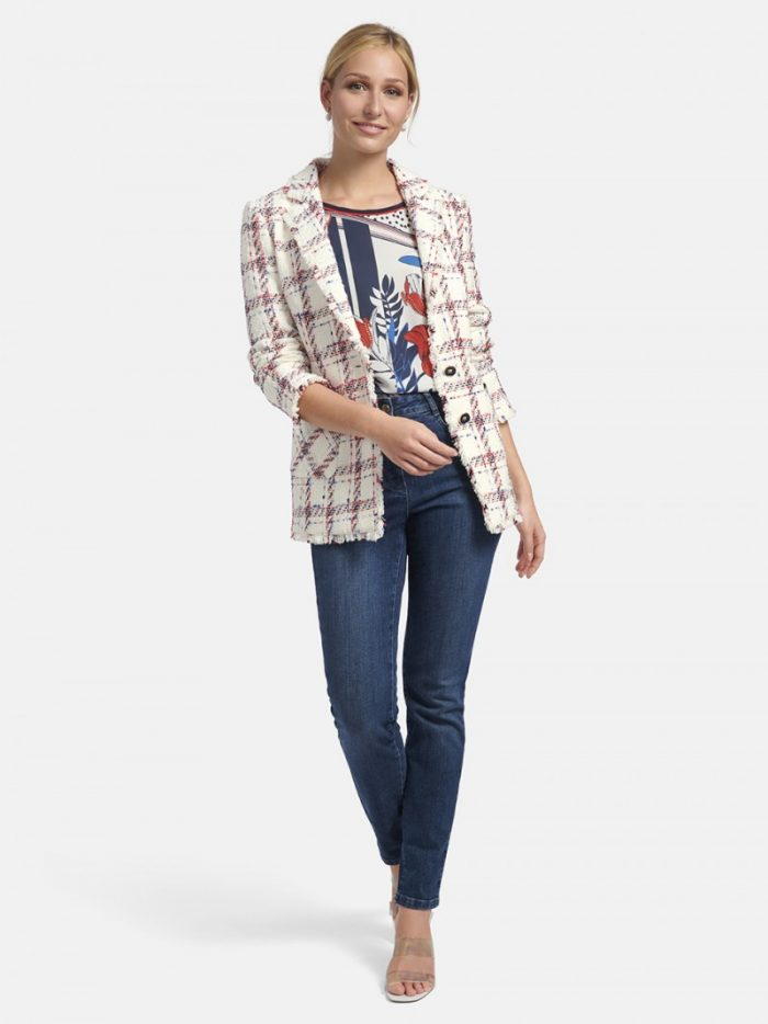 Basler jacket 2211800501 tweed