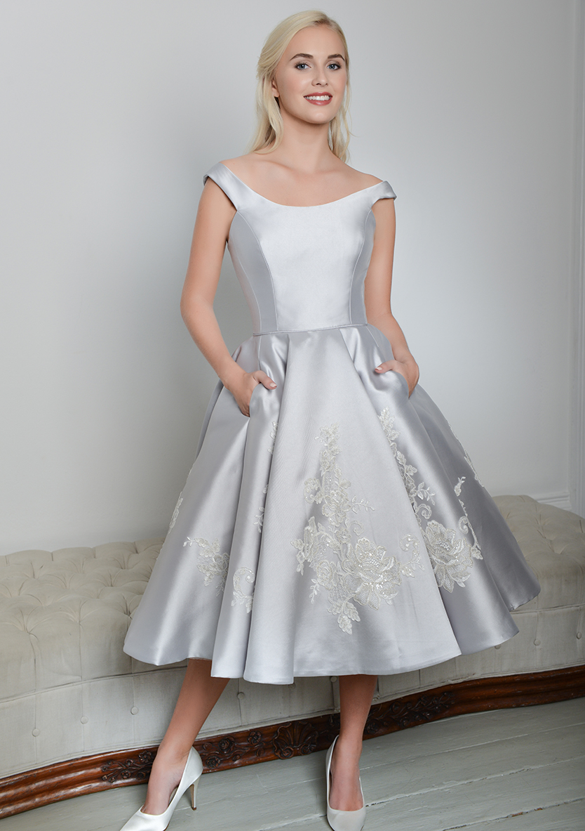 Tea Length Wedding Gown Dixie 2