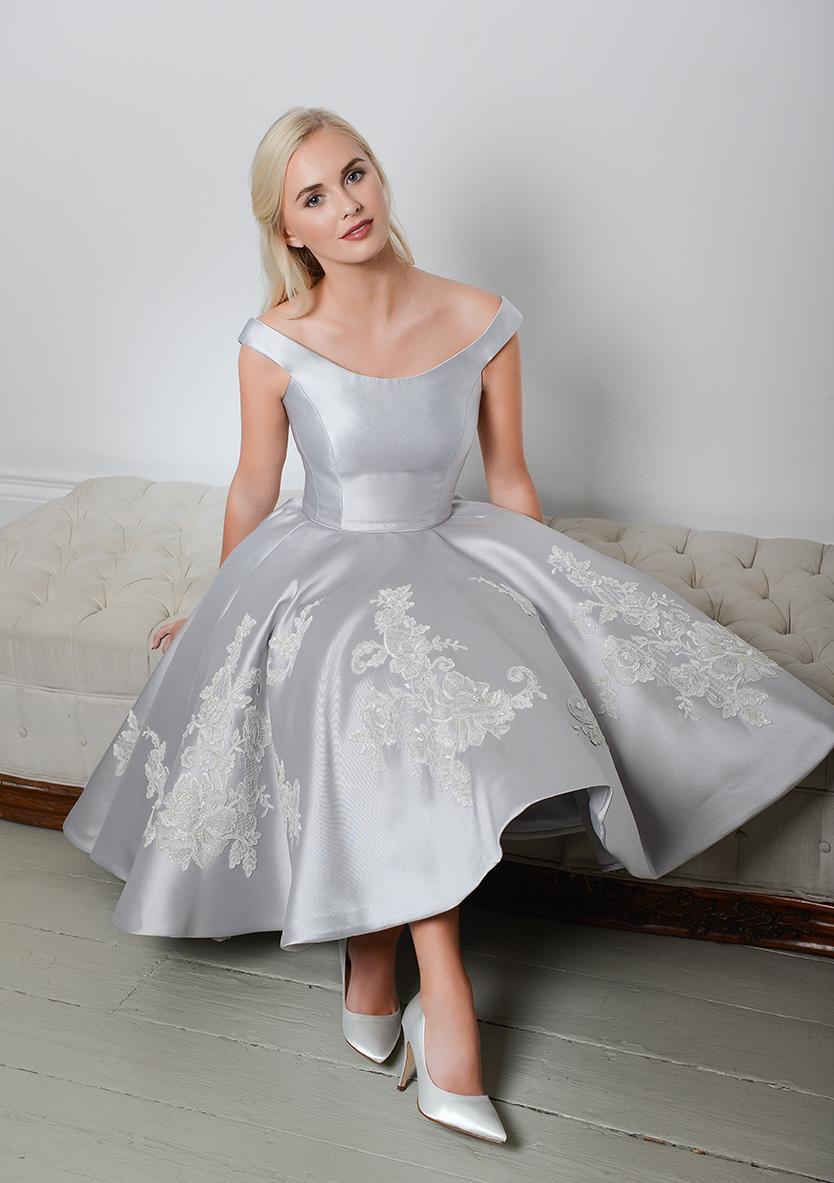 Tea Length Wedding Gown Dixie