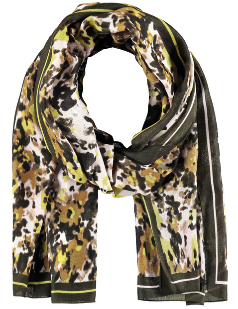 Gerry Weber scarf Olive print