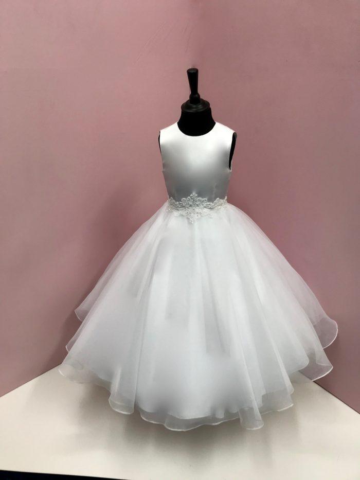 White Angel Communion Dress Quinn