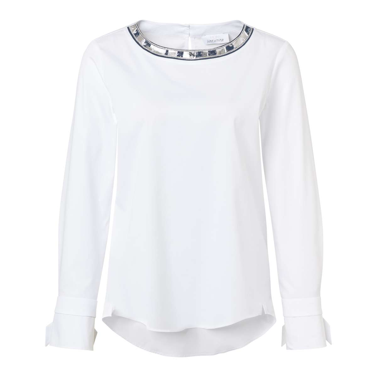 Just white white top 43545