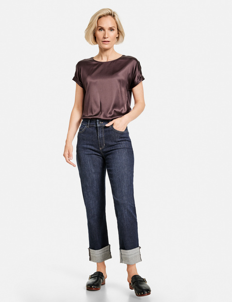 Gerry Weber jeans with turnup 620013