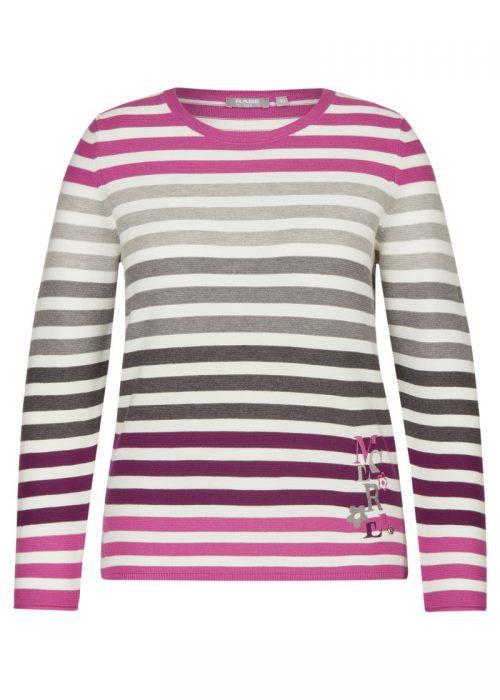 Rabe round neckline jumper 47-013651