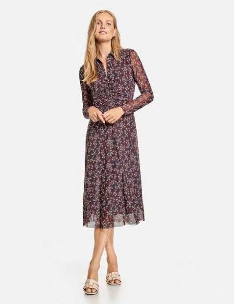 Gerry Weber mesh print dress 680903