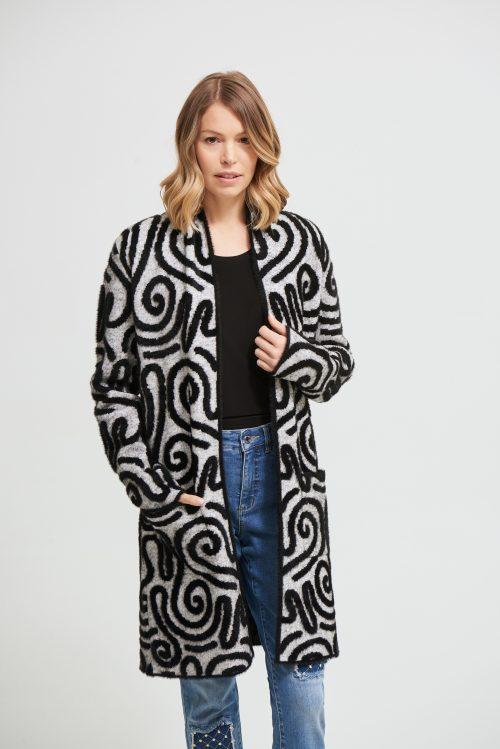 Joseph Ribkoff knit coat 213993