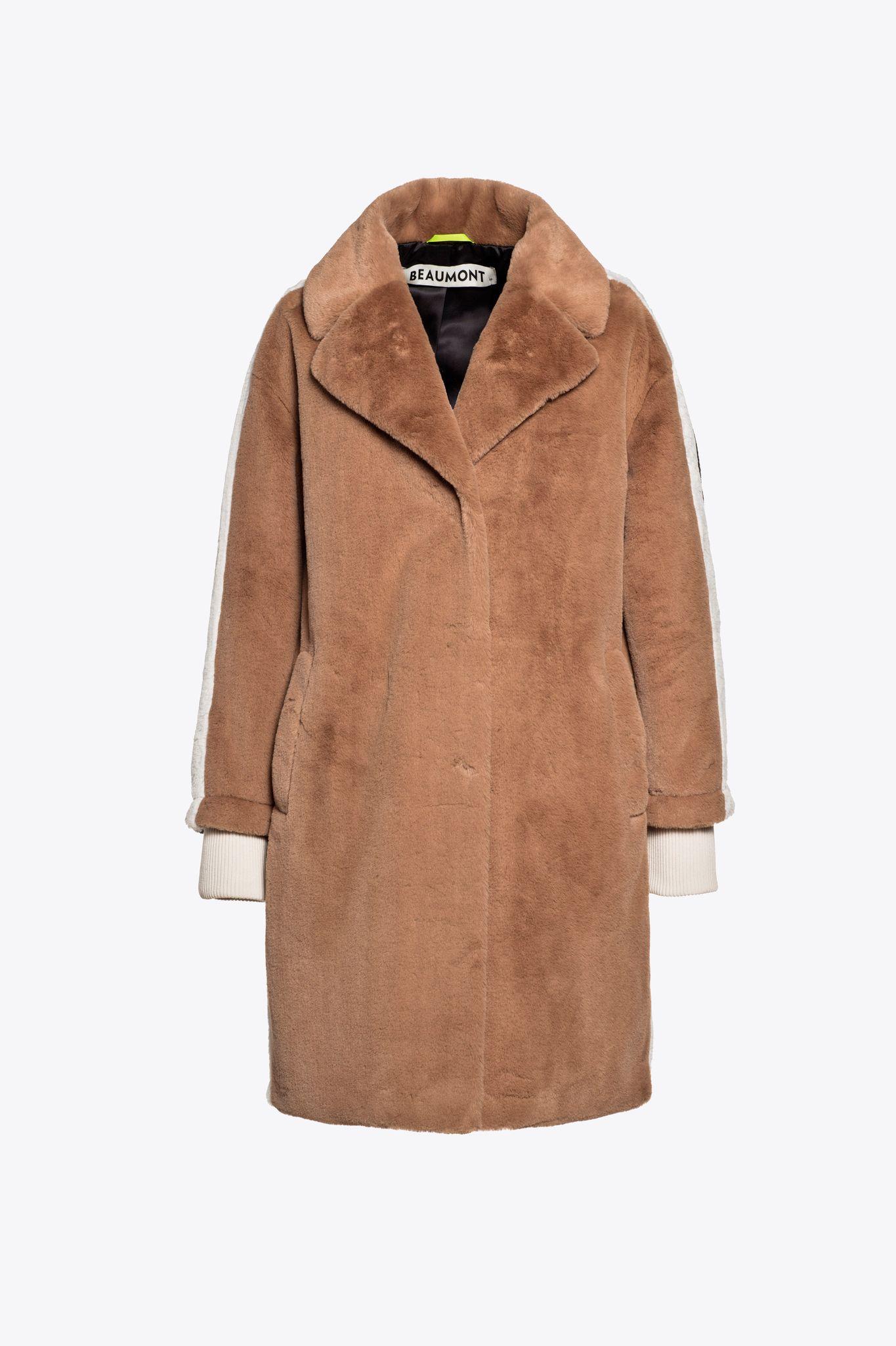 Beaumont teddy faux fur coat