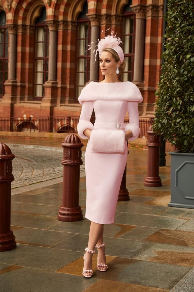 Veni Infantino dress blush 991810