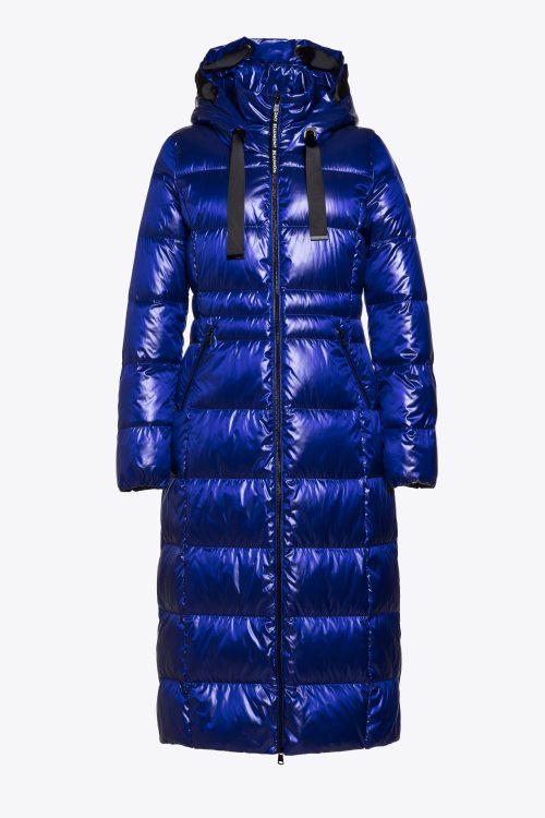 Beaumont puffy coat blue purple